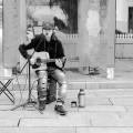 街头的艺人