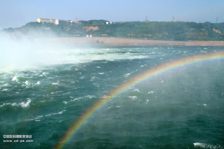 69 数码摄影论坛作品专区 69 自然风景 69 黄河小浪底放水调沙