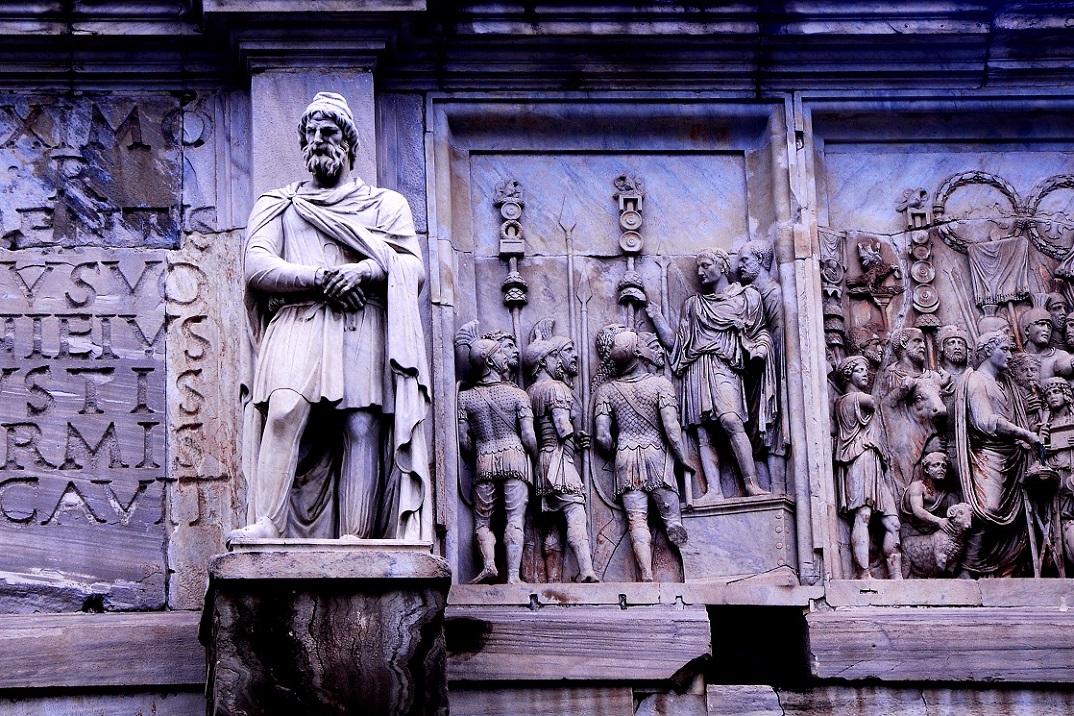 国外中世纪雕塑遗迹