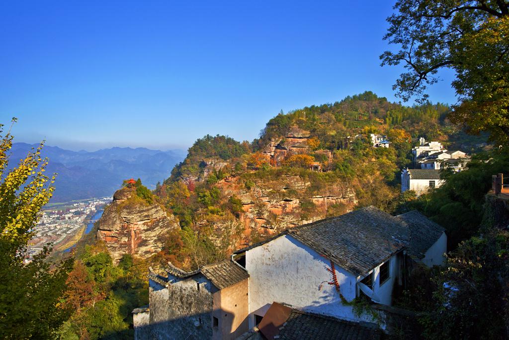 齐云山的秋色 - 自然风景 - 数码摄影网论坛 - 摄影