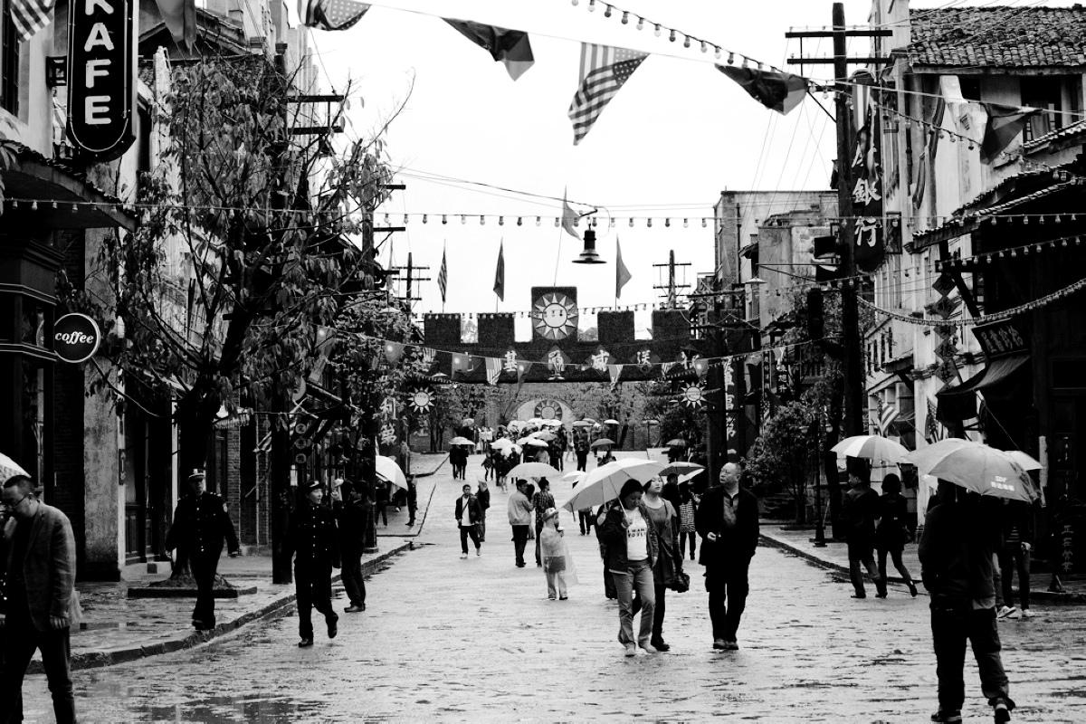 重庆民国街扫拍(黑白)