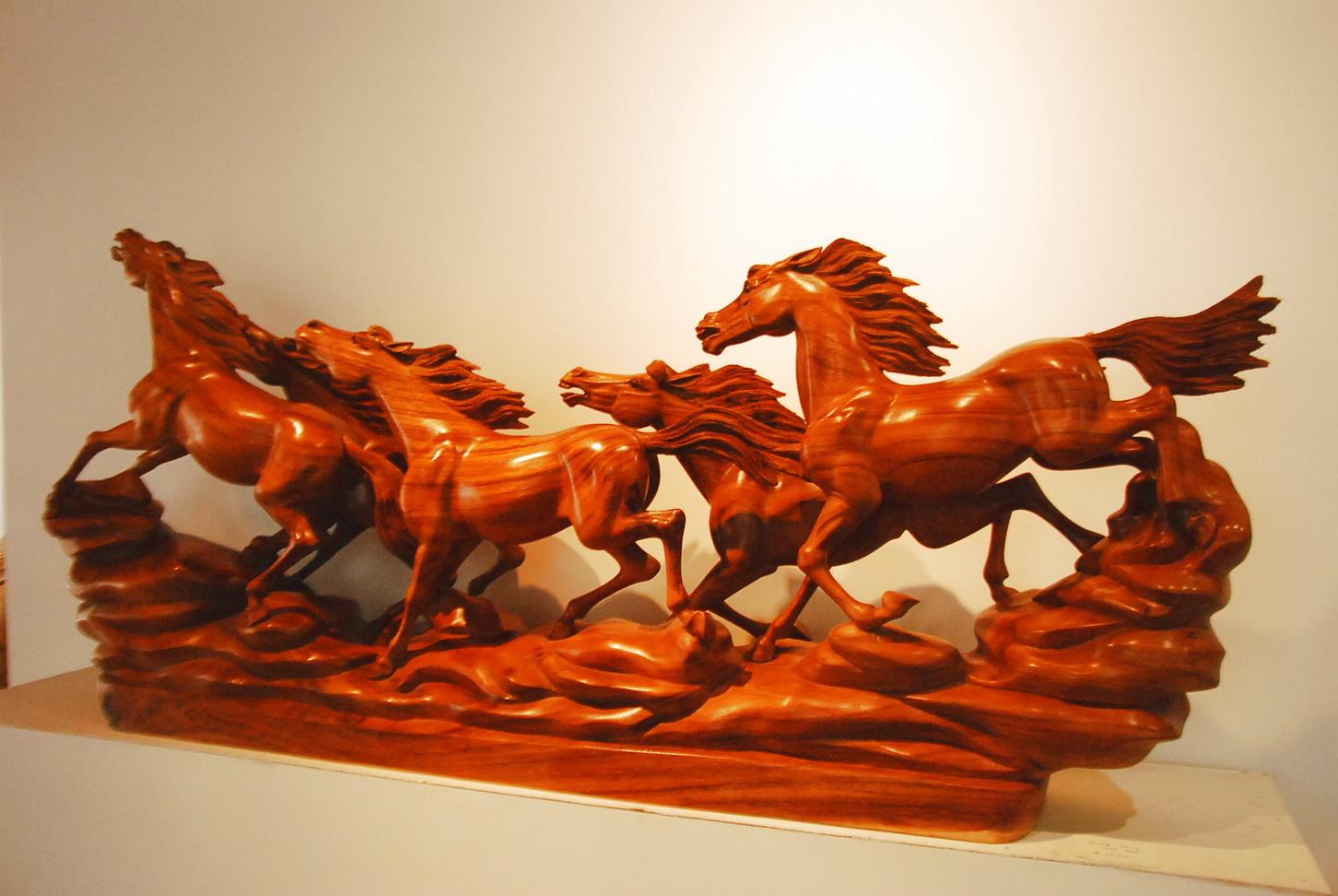 印尼楠木,黄杨木雕刻品