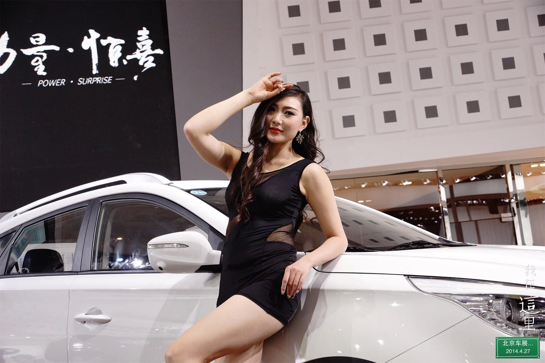 a77拍摄北京车展特写模特镜头
