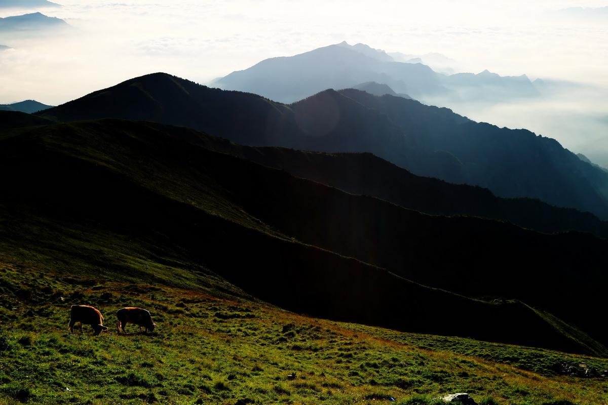 五台山风光------早晨的风景 - 自然风景 - 数码摄影