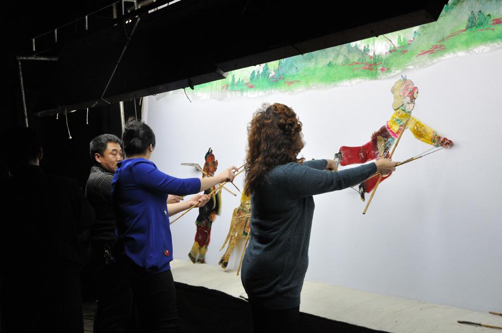"""唐山皮影 - 第五届""""金鹤奖""""全国数码摄影大赛征稿"""