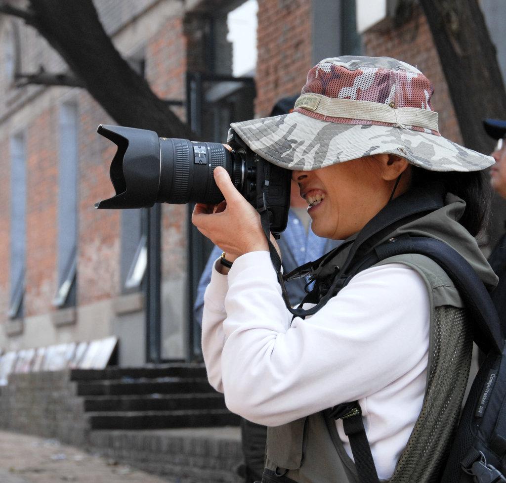 【原创】女摄影师