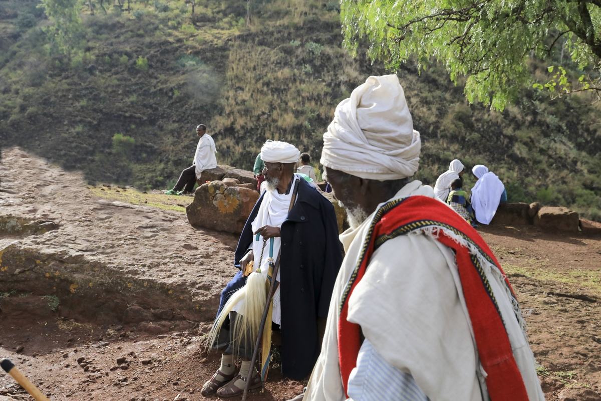 探访埃塞俄比亚----听经,诵经,念经.2