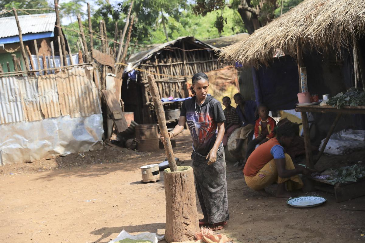 探访埃塞俄比亚----椿谷.