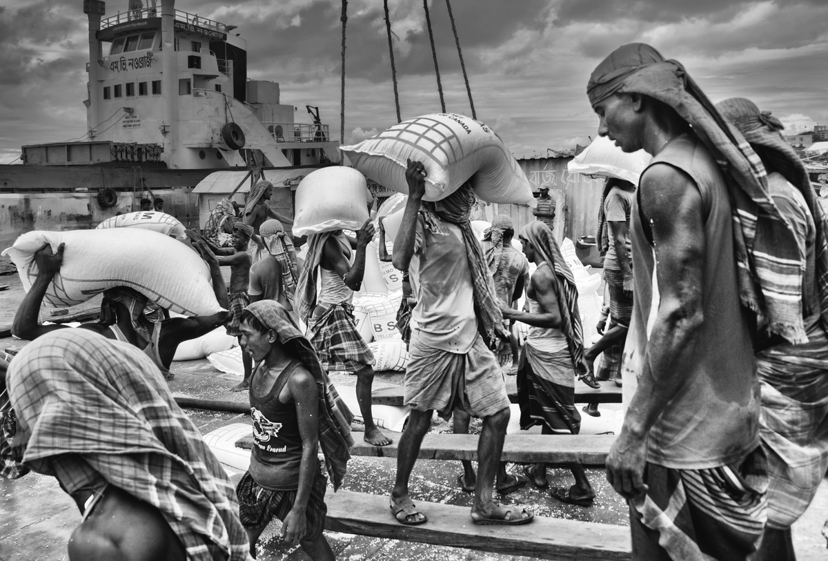 晓萌眼中孟加拉的百姓之一