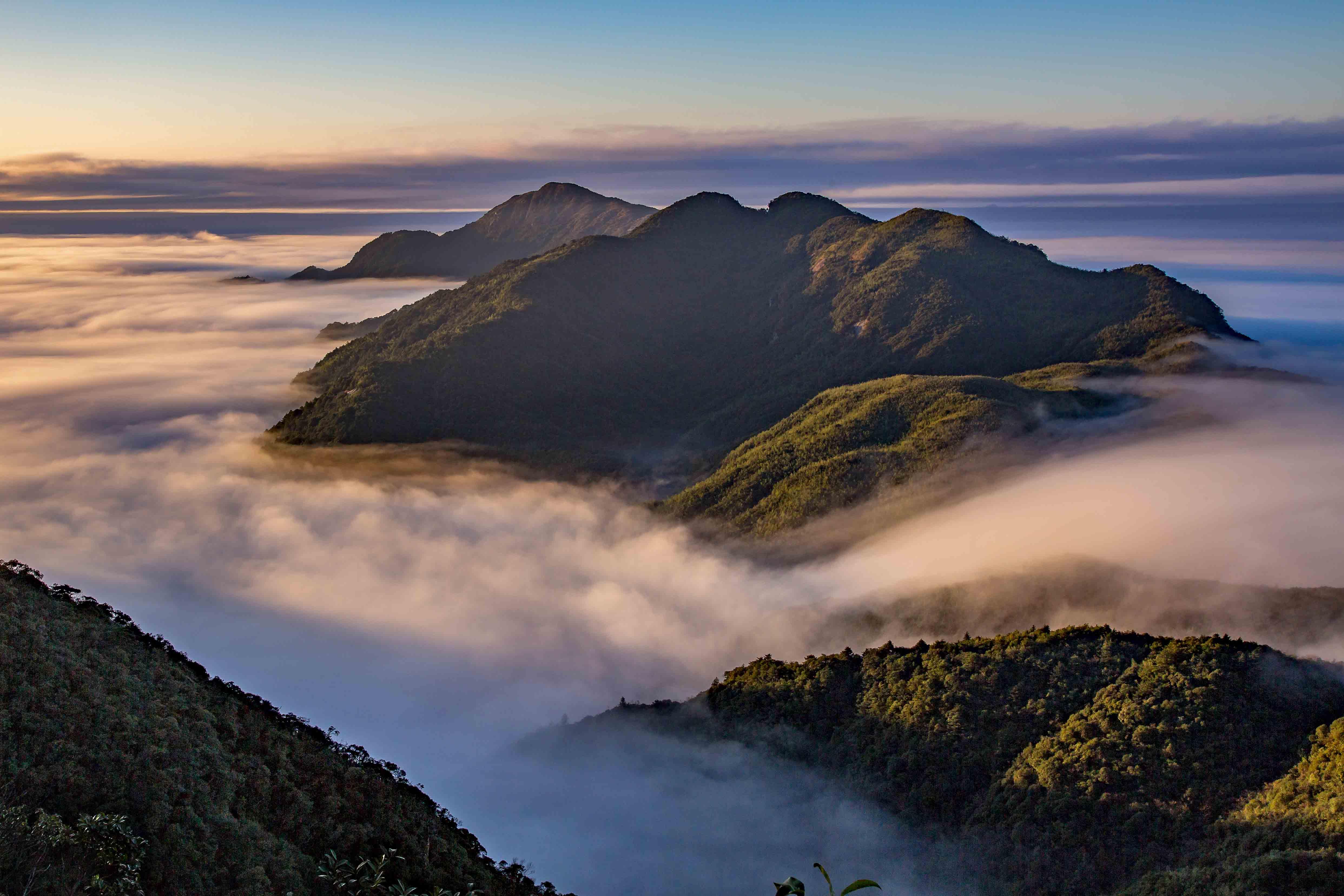2017年11月拍摄于莽山天台山风景区