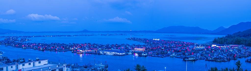 海南陵水渔港