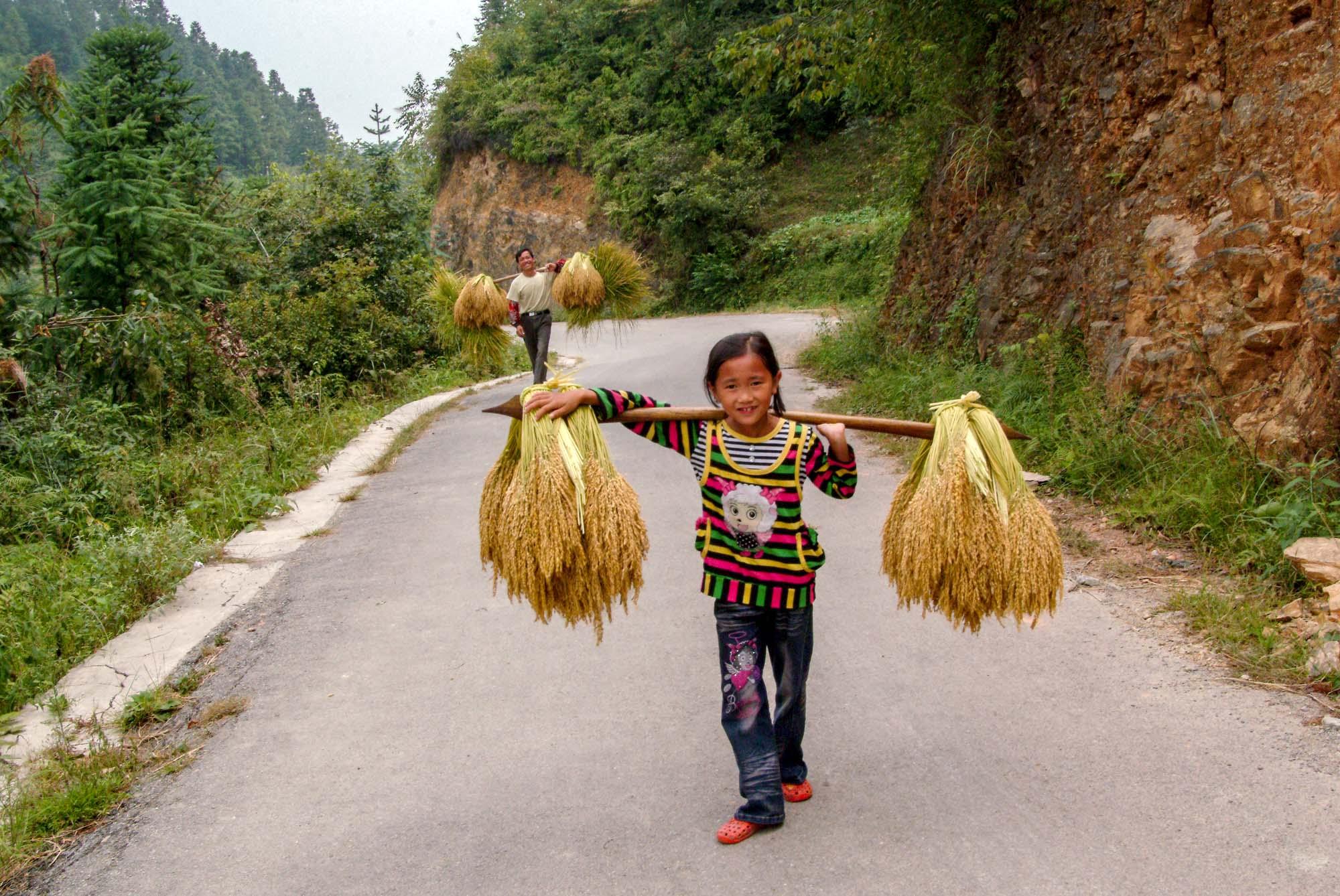 侗族小女孩