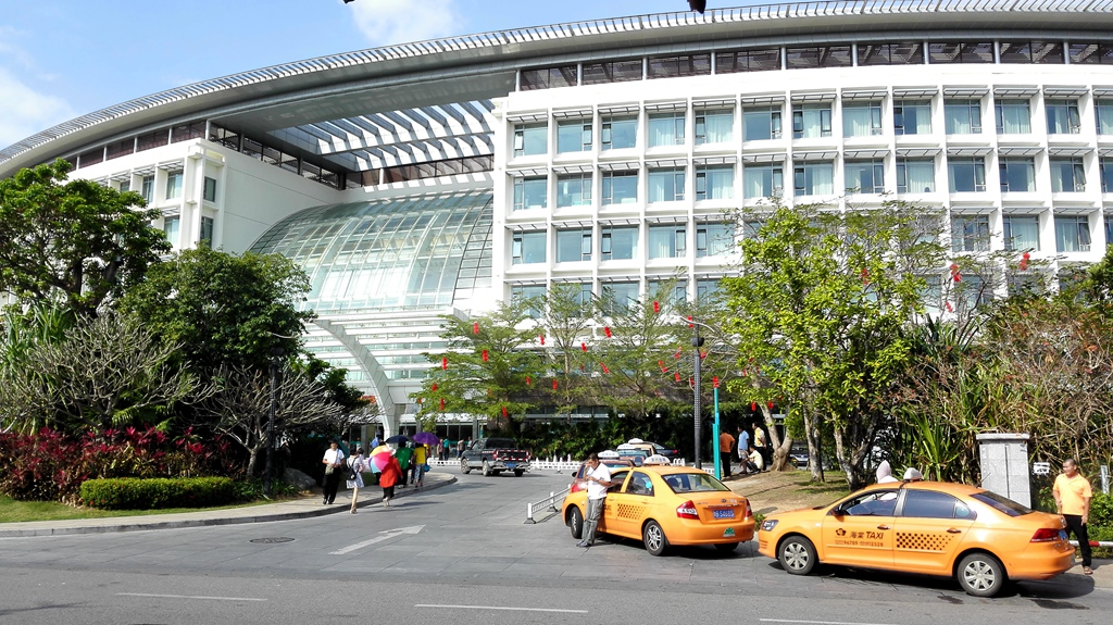 301医院海南分院 (手机拍照)
