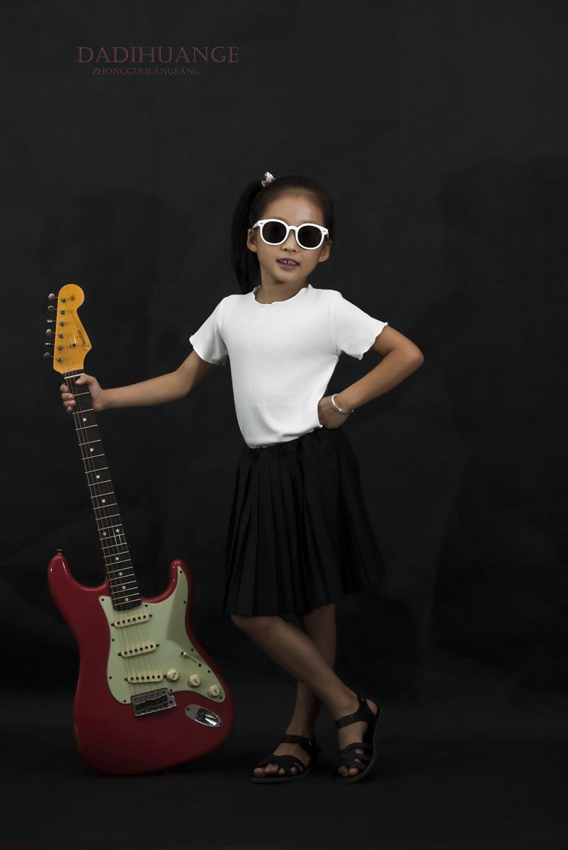 小公主与吉他