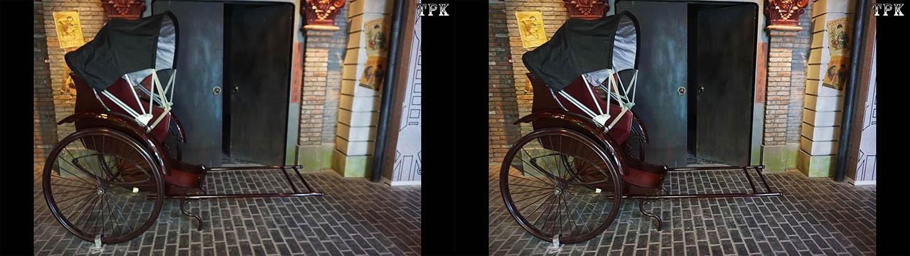上海 1192弄(3)180820 立体摄影(左右图)