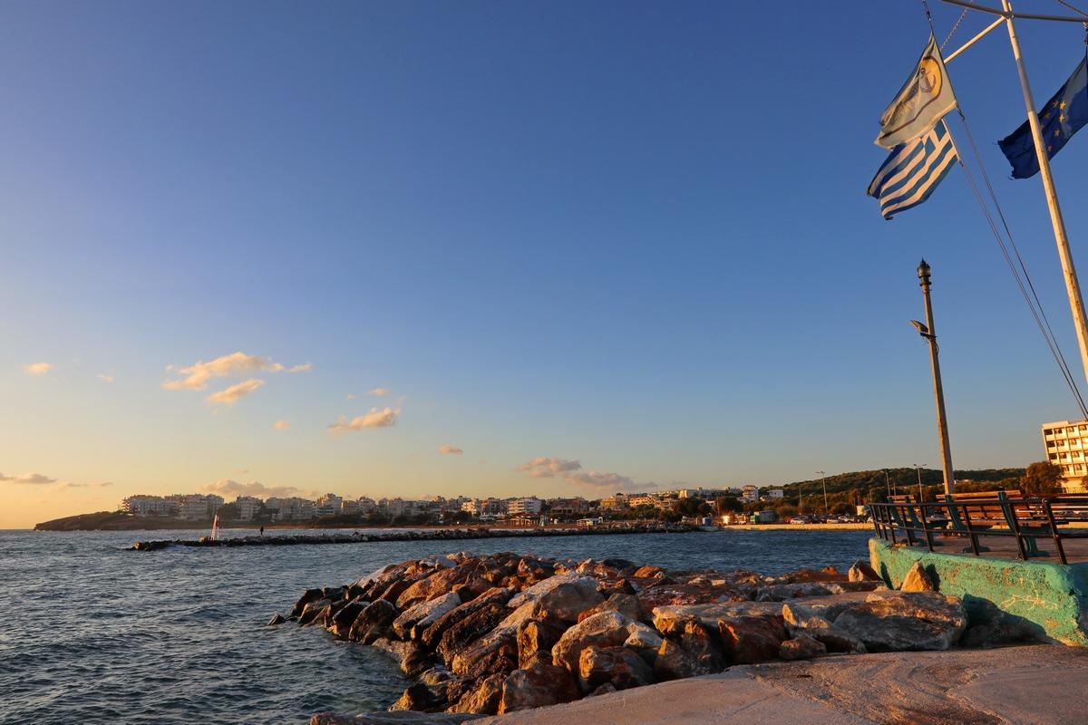希腊之旅...第一天清晨