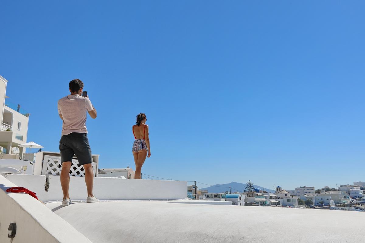 希腊之旅...包车游圣托里尼岛.4