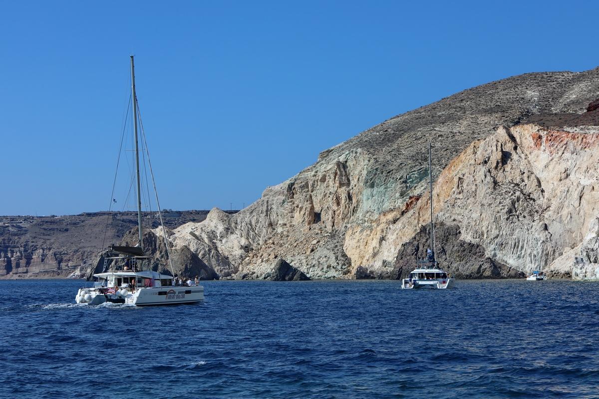 希腊之旅...出海艇游爱情海.3