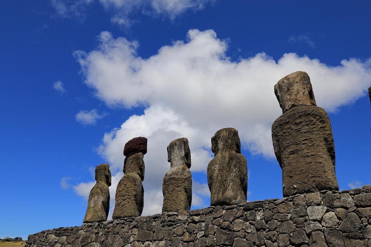 南美四国--智利.复活节岛的神秘大头像.1