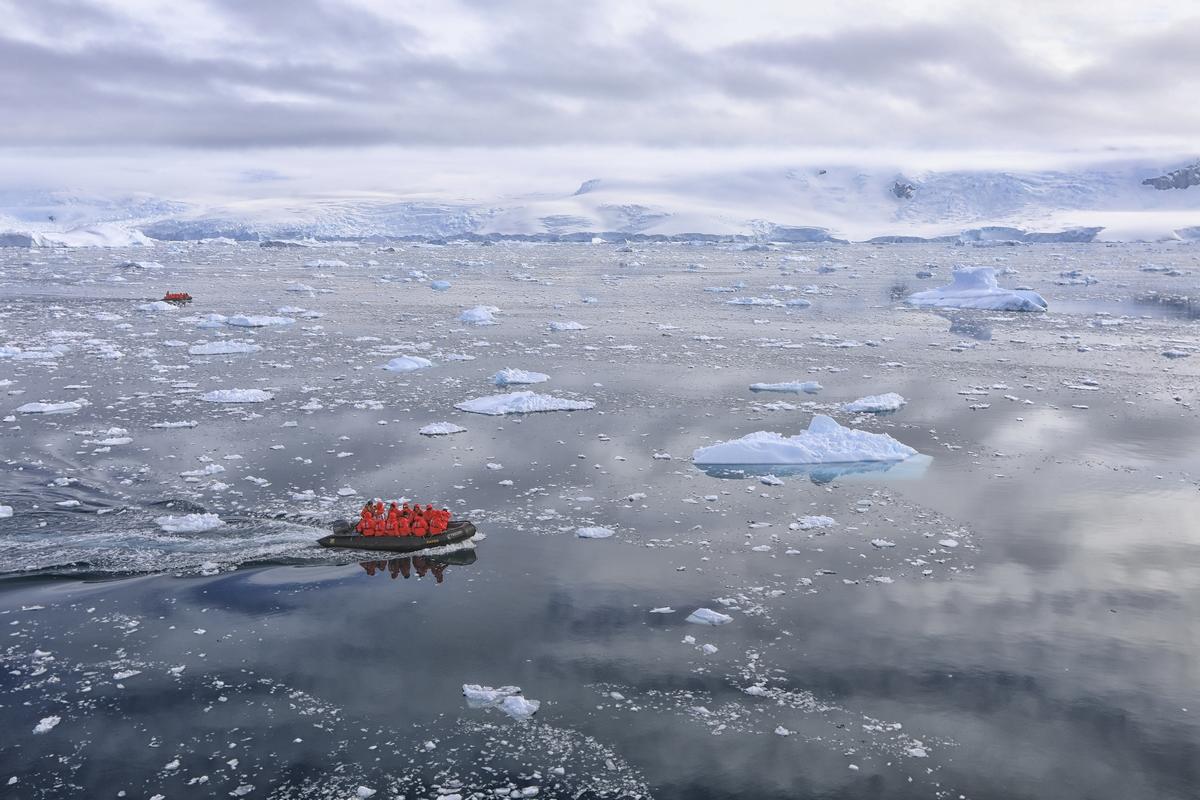 南极之行---天堂湾风光