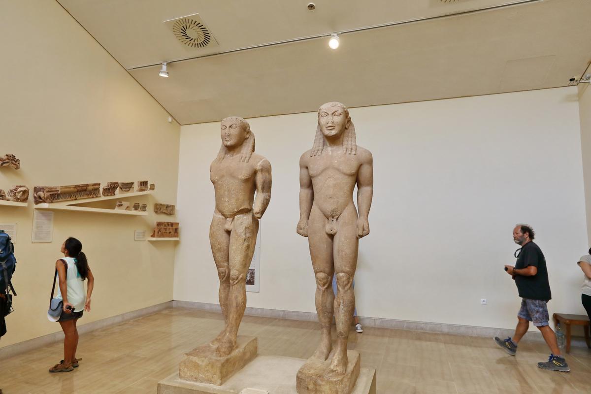 希腊之旅...德尔菲遗址博物馆.2