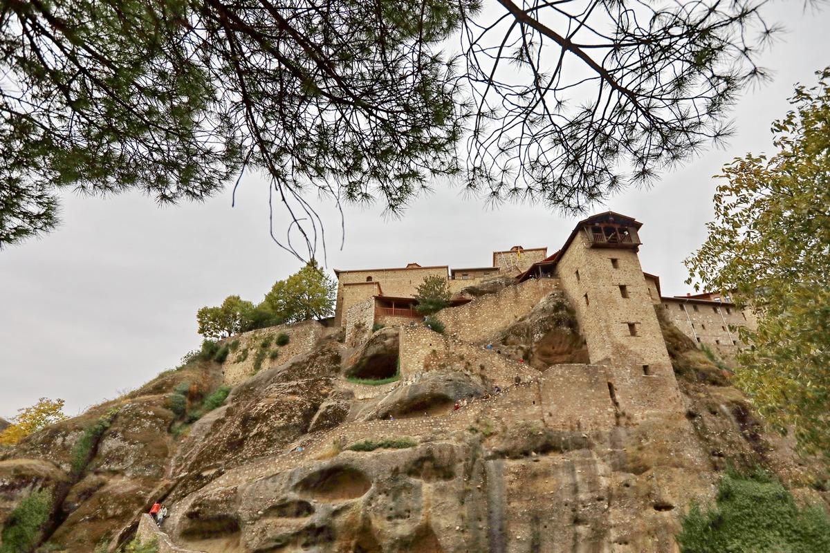希腊之旅...最后一站梅黛奥拉空中修道院.4