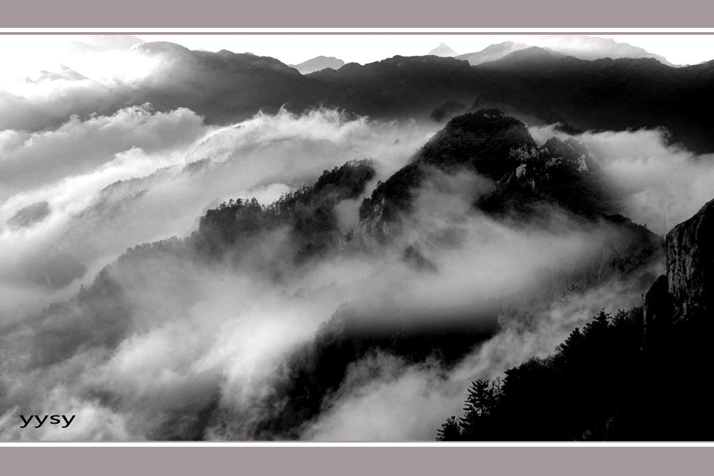 滚滚白云--野原摄影