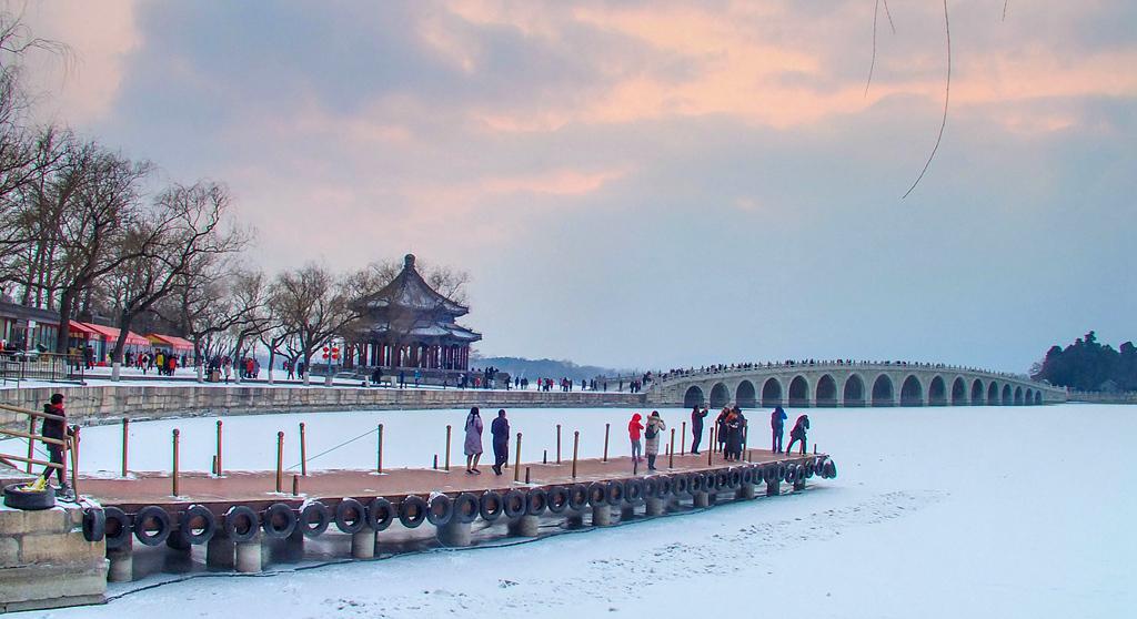 冬韵-----颐和园(三)