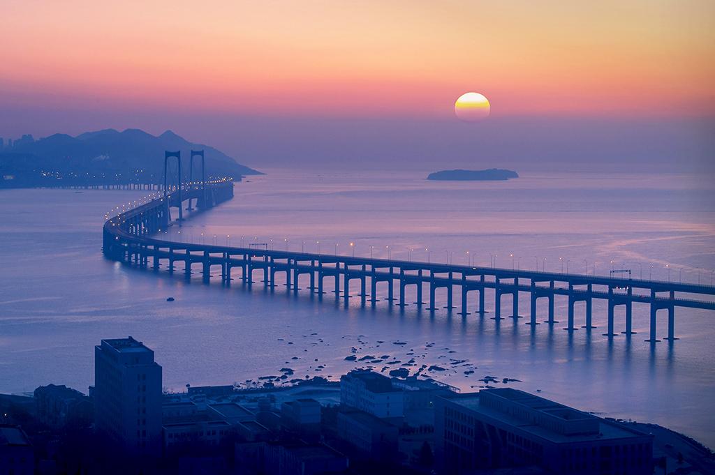 日出星海湾