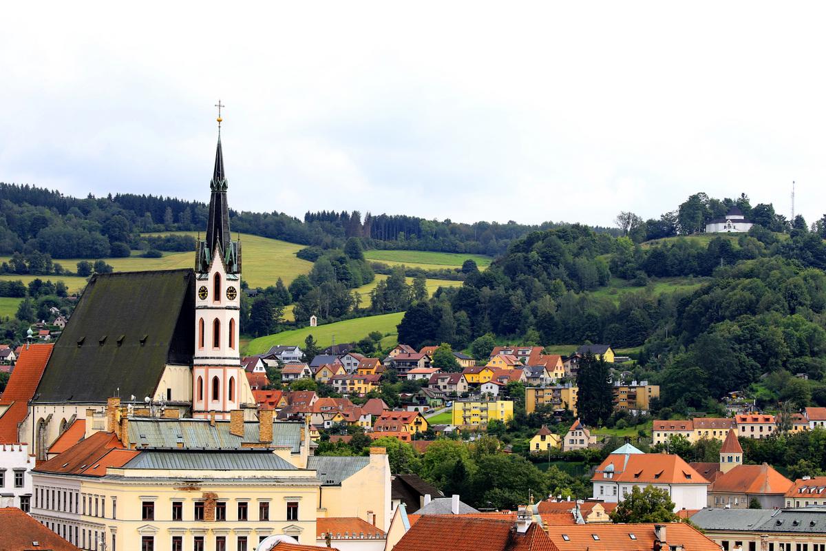 欧州七国游---捷克--克鲁姆洛夫小镇.1