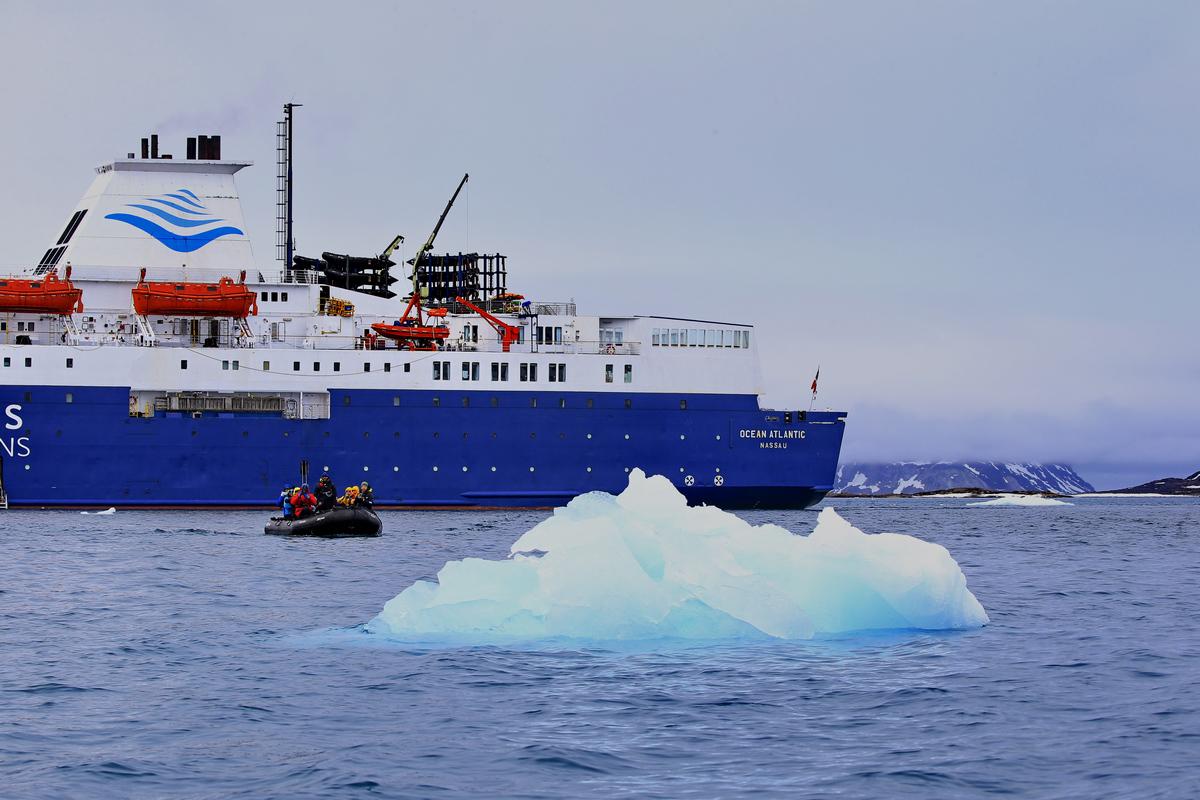 探秘北极---洋上无处不美景