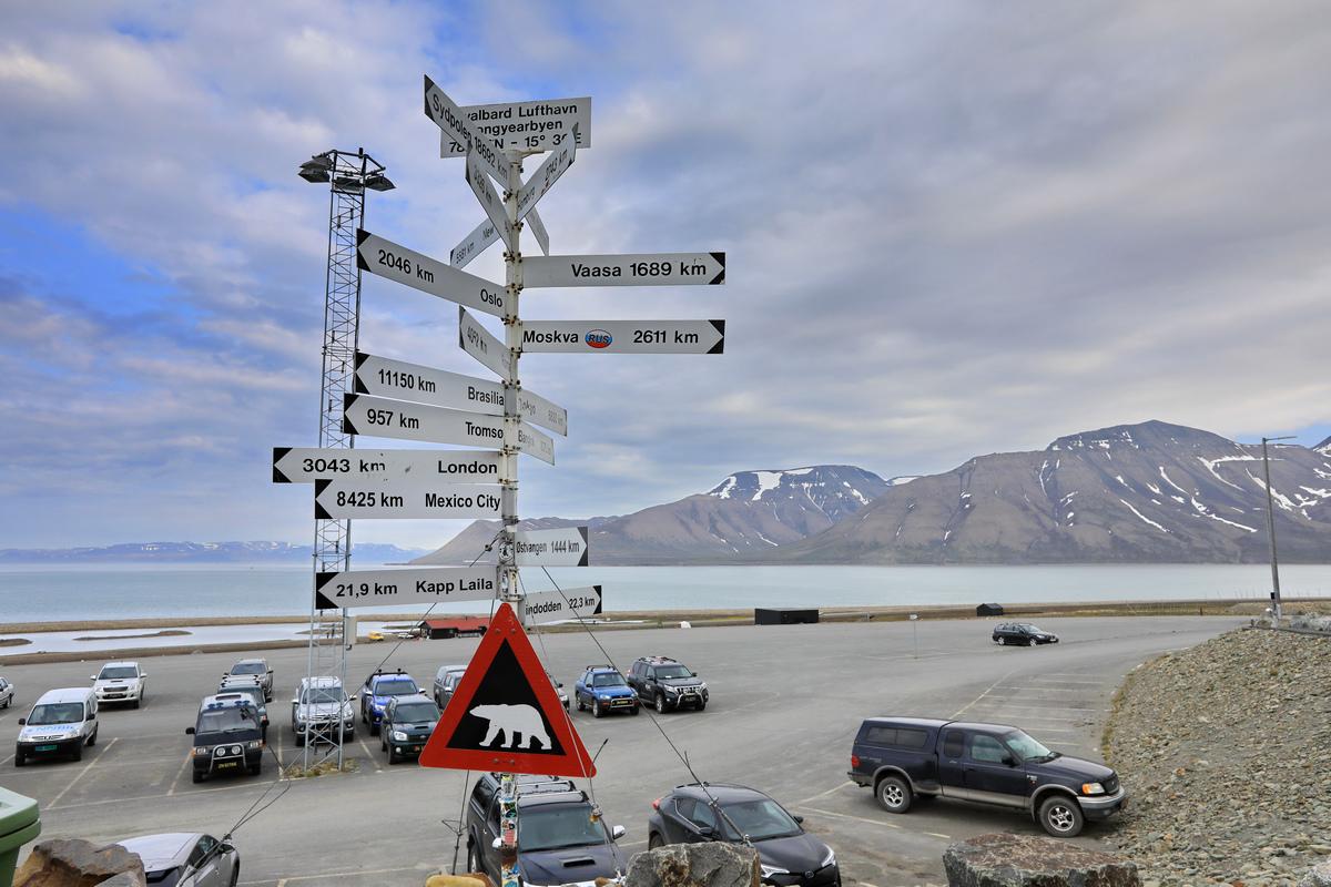 探秘北极---离开朗伊尔城