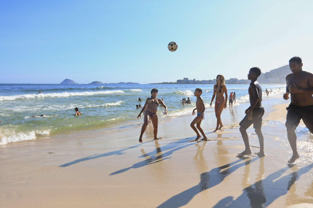 南美四国--巴西-沙滩足球