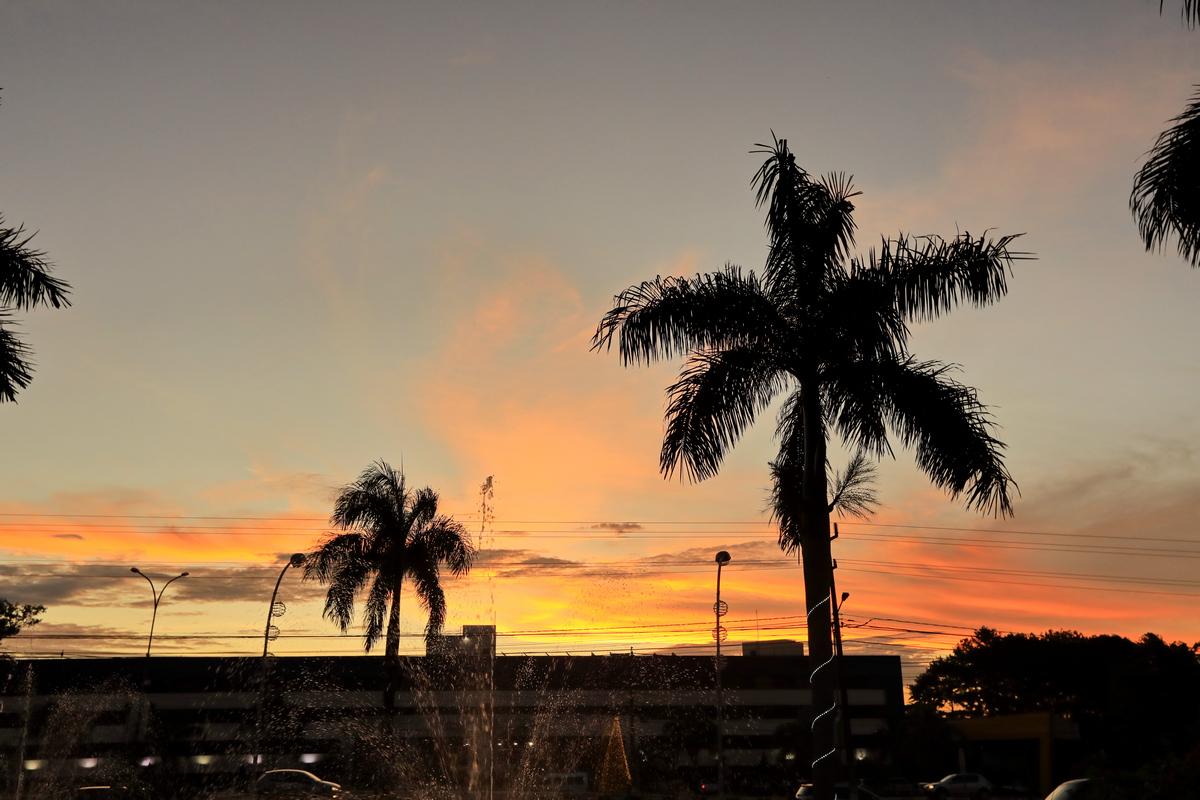 南美四国--巴西-伊瓜苏暮色
