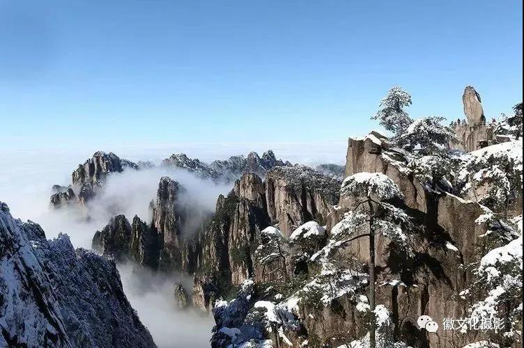 冬摄童话黄山冰雪雾凇云海4日精品团
