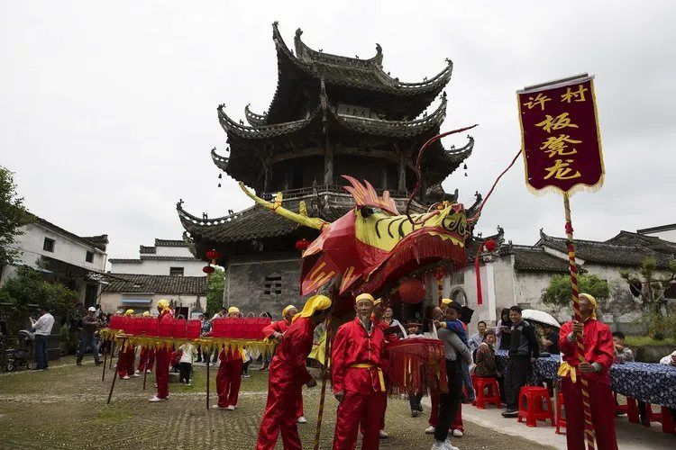 【独家首创】狂舞徽州春节元宵节民俗活动风光摄影团