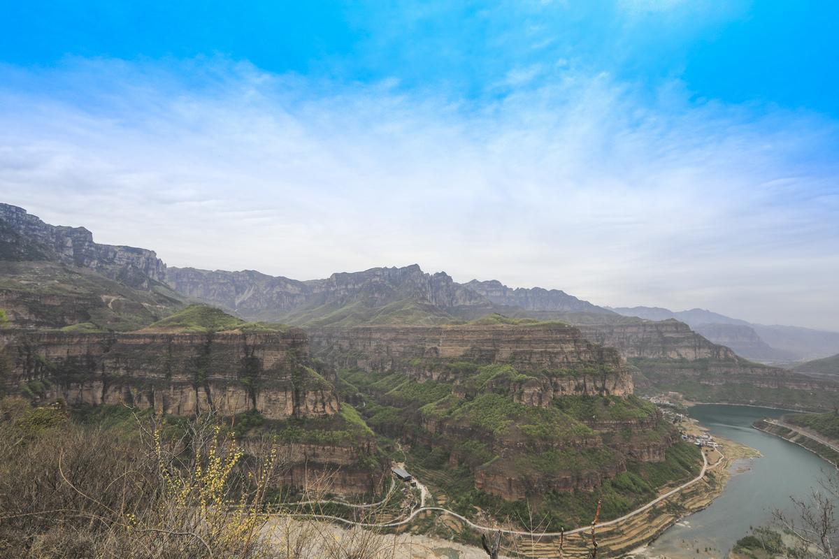 太行山之旅--曰出大峡谷.2