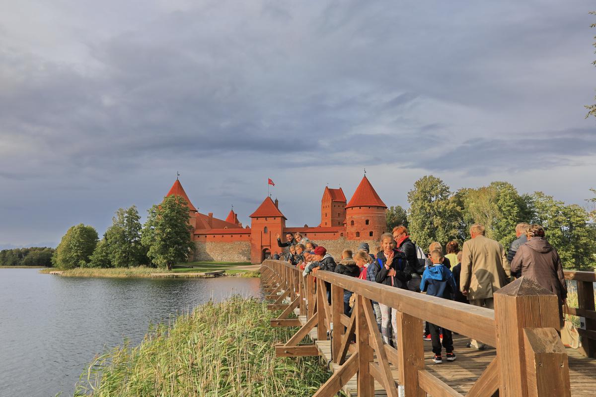 立陶宛特拉凯水中城堡