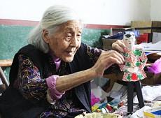 百岁纸扎老艺人