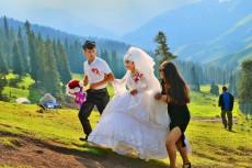 天山上的婚礼